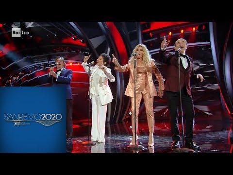 """Sanremo 2020 - I Ricchi e Poveri: """"Se m'innamoro - Sarà perché ti amo - Mamma Maria"""""""