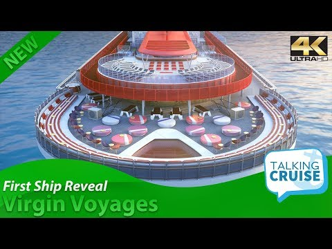 Virgin Voyages – First Reveal of Adult Only Cruise Ship