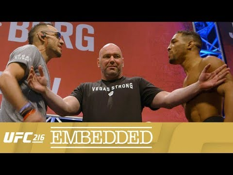 UFC 216 Embedded: Vlog Series - Episode 5