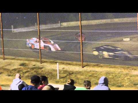 Lucas Dobbs USRA Modified Feature Nevada Speedway 9/6/14
