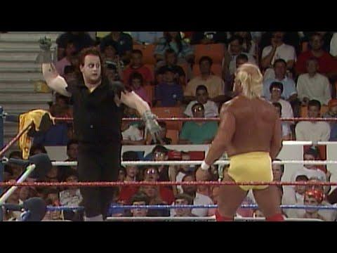 Hulk Hogan Vs. The Undertaker For The First Time: Hulkamania 6, July 29, 1991