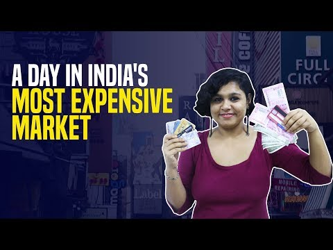 A day at Khan Market - India's most expensive market place
