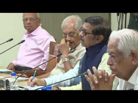 Discussion on 'Bicameralism and the Role of the Upper House in the Indian Parliament'