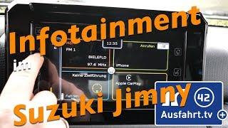 Infotainment System im 2019 Suzuki Jimny Comfort+