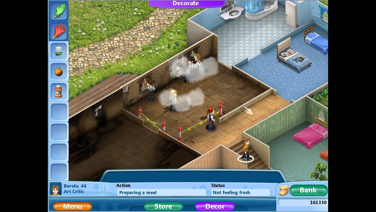 Virtual Families  Free Rooms