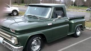 1965 chevy truck, flowmasters sound good!