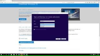Windows 10 - installatie medium maken
