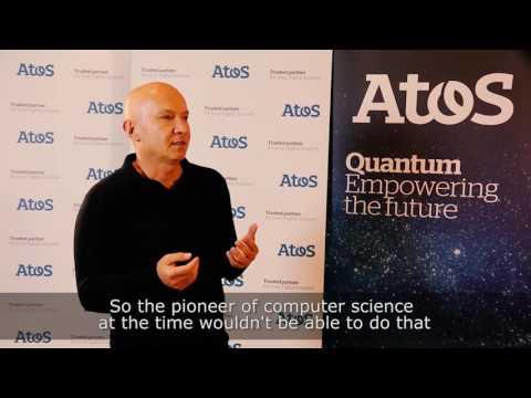 "Interview - Artur Ekert at the launch of ""Atos Quantum"""