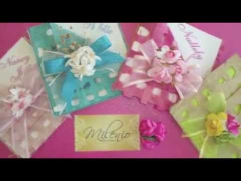 Scroll Quinceanera Invitations for luxury invitation example