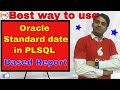 How to use DATE format in PLSQL Reports | Oracle Shooter