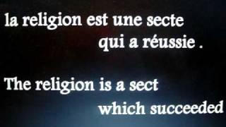 religion est une secte qui a réussie ? religion is a sect which succeeded