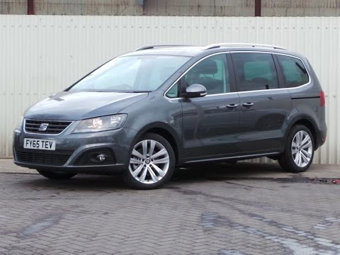 2015 seat alhambra 2 0 tdi 184ps cr style advanced 5dr youtube. Black Bedroom Furniture Sets. Home Design Ideas