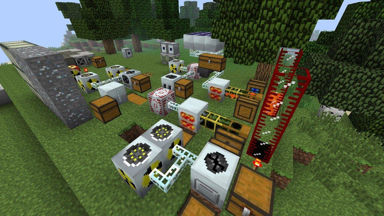 Скачать Industrial Craft 2 для Minecraft 1.7.2
