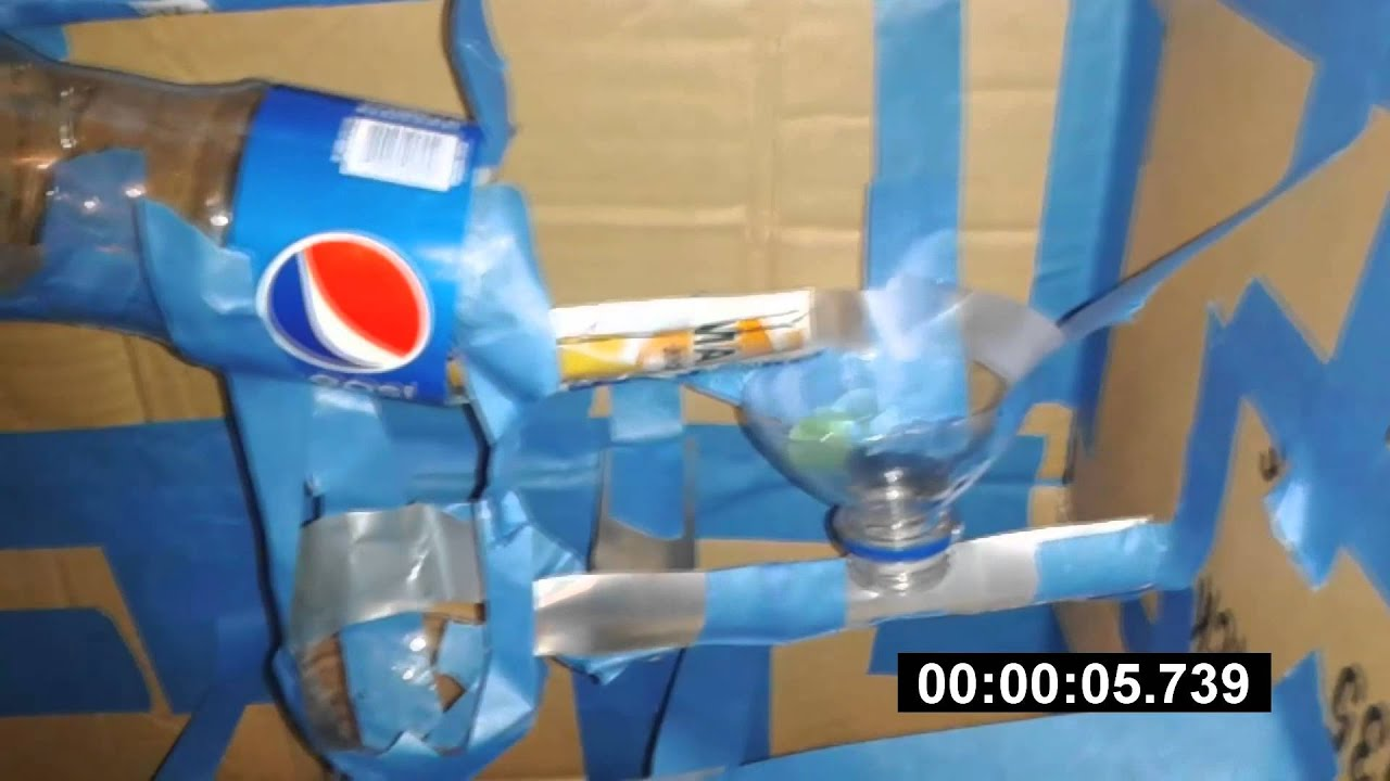 My Marble Roller Coaster Made out of Recycled Materials  YouTube