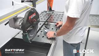 B-Lock    Battipav locking system