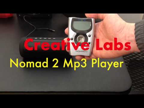 Creative Labs Nomad 2 MP3 player, Retro tech 1999 (is it Obsolete?)