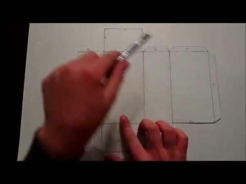 Como hacer un prisma base rectangular youtube for Como hacer un sobre rectangular