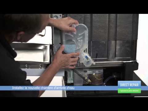 Changer la chambre d 39 arriv e d 39 eau dans un lave vaisselle youtube - Changer un robinet d arrivee d eau ...