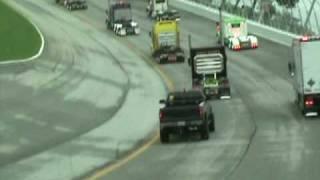 Big Rigs Racing Around The Atlanta Motor Speedway 2009