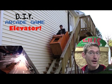 DIY Arcade Game Elevator!