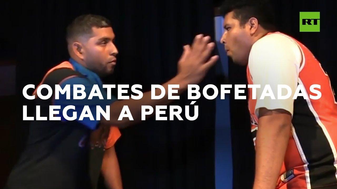 Los campeonatos de bofetadas 'pegan fuerte' en Perú I RT Play