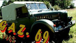 Off-Road Russian legend GAZ-69 retro bemutató - ГАЗ-69 выставка