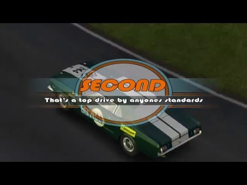 GT legends race at anderstorp south  