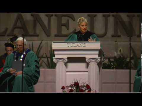 Ellen DeGeneres at Tulane's 2009 Commencement Speech