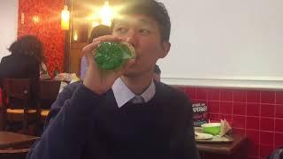 Кореец пробует ТАРХУН в первый раз