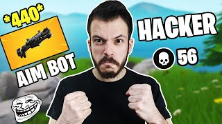 ΕΓΙΝΑ HACKER ΣΤΟ FORTNITE! ft GiorgosN,Venomous Fortnite Battle Royale