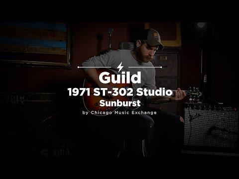 Quick Riffs: Guild 1971 ST-302 Sunburst Demo
