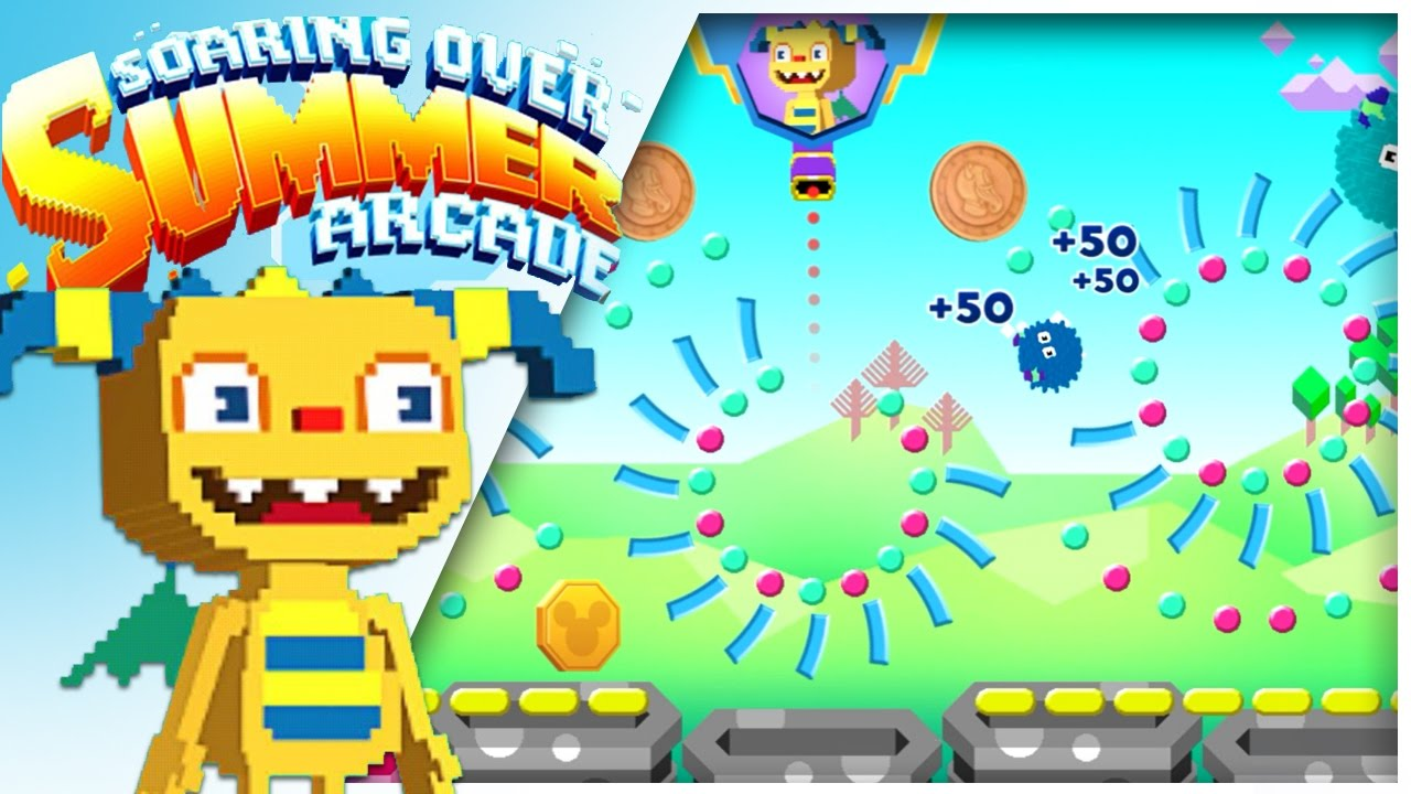 Soaring Over Summer Arcade | Henry Hugglemonster online game for kids