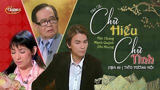"""Văn Chung, Mạnh Quỳnh, Phi Nhung - Tân Cổ """"Chữ Hiếu, Chữ Tình"""" (Mạnh Quỳnh) PBN 82"""