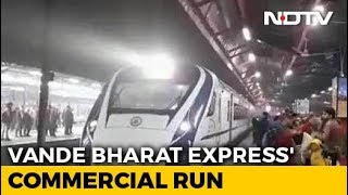 """""""Tickets Sold Out"""": Minister On Vande Bharat Express"""
