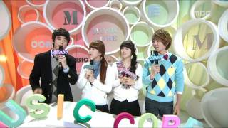 Opening, 오프닝, Music Core 20110122