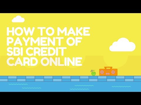 SBI Credit Card Bill Payment Online by BillDesk