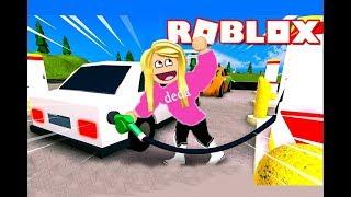 تجربتي كموظف_ ة في محطة بنزين في لعبة roblox