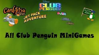 All Club Penguin Mini Games