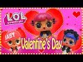 LOL Surprise Dolls Valentines Day Fun and Shopping with MC Swag, Cherry and Midnight!