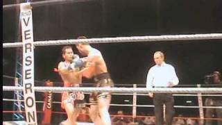 Yodsanklai vs Yohan Lidon Thai Boxing Africa 2008