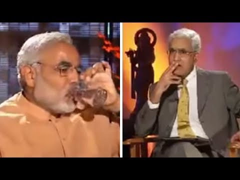 The Story of the Modi Interview That Ended Abruptly