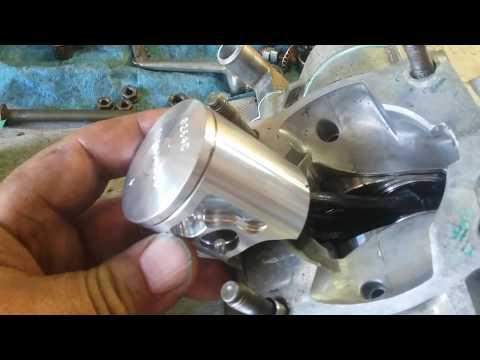 Yamaha YZ85 Top End Rebuild