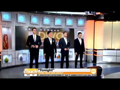 """Il Divo - Inteview & """"Tonight"""" / """"The Coach"""" CBS 07/11/2013"""