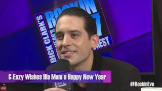 G-Eazy Wishes His Mom a Happy New Year