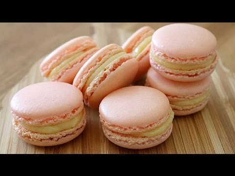 How To Make French Macarons - UPDATED VERSION | sweetco0kiepie - YouTube