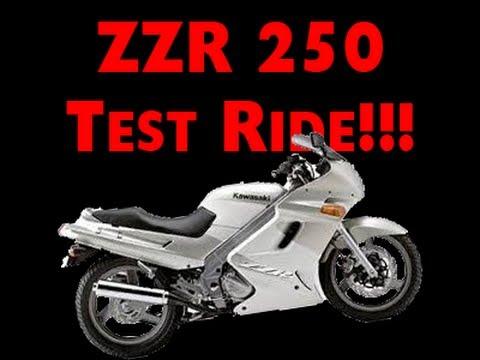 ZZR 250 Test Ride