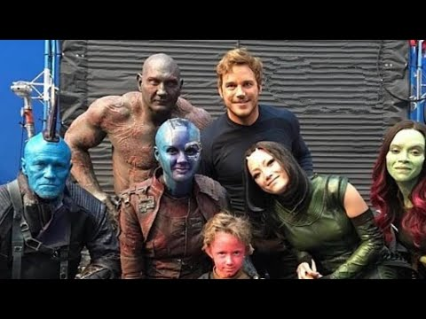 How did they make Guardians with Zoe Saldana & Dave Bautista!