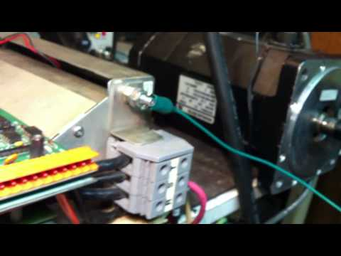 PDM 100 Electro-craft  IQ-2000 Positioning Servo Drive Repair and test @ ABG Tronic INC,