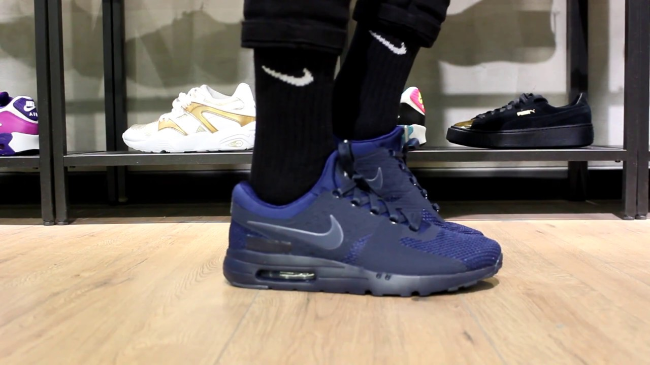 Nike Air Max Zero Navy Blue