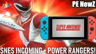 Snes Games All But Confirmed For Switch Now & New Power Rangers Fighting Game Coming Ns! | Pe Newz